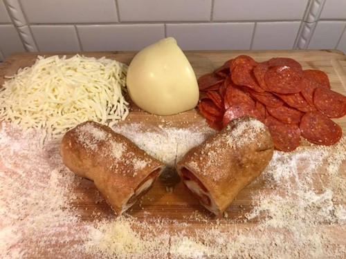 pepperoni rollers