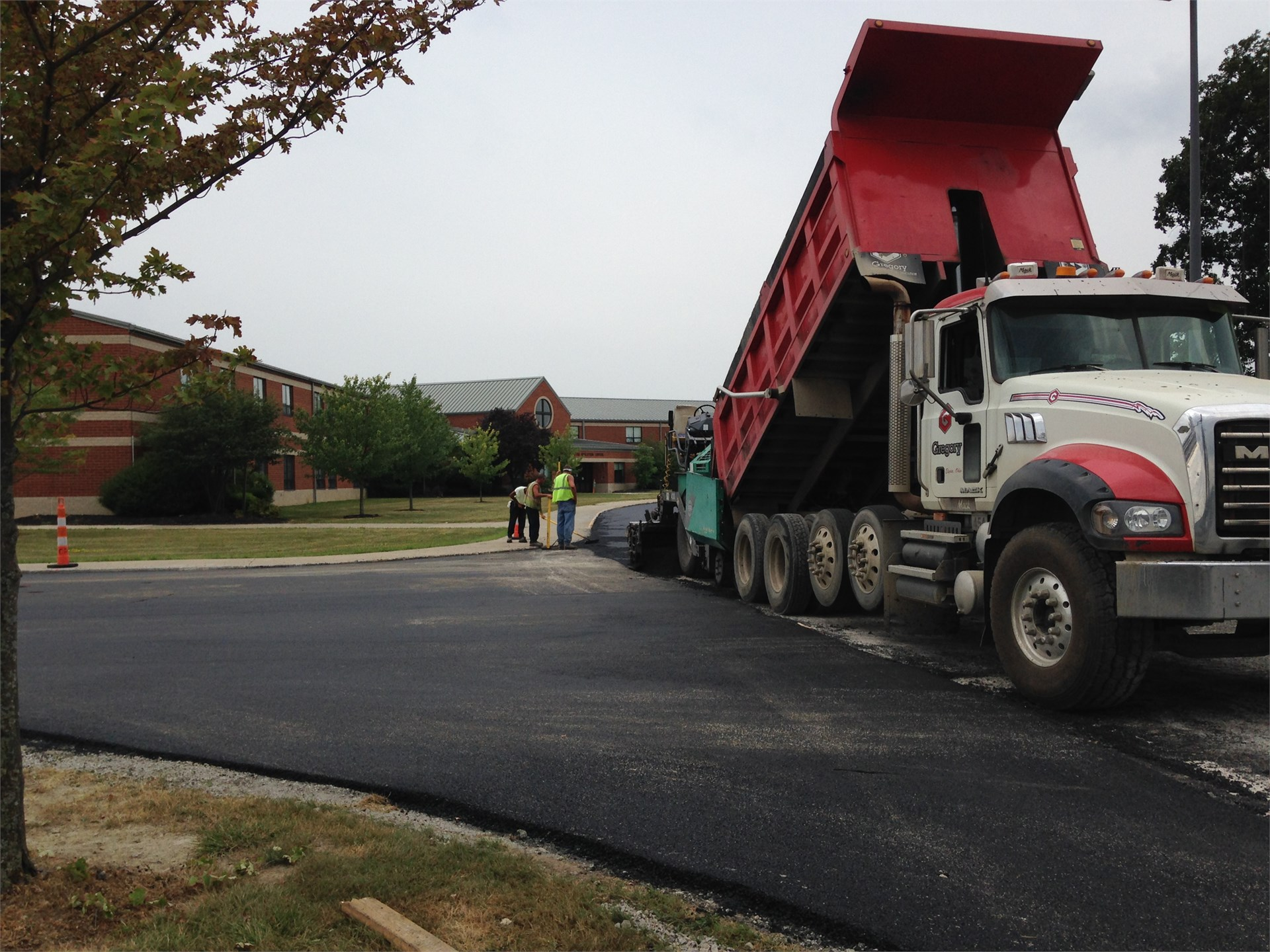 Applying Asphalt