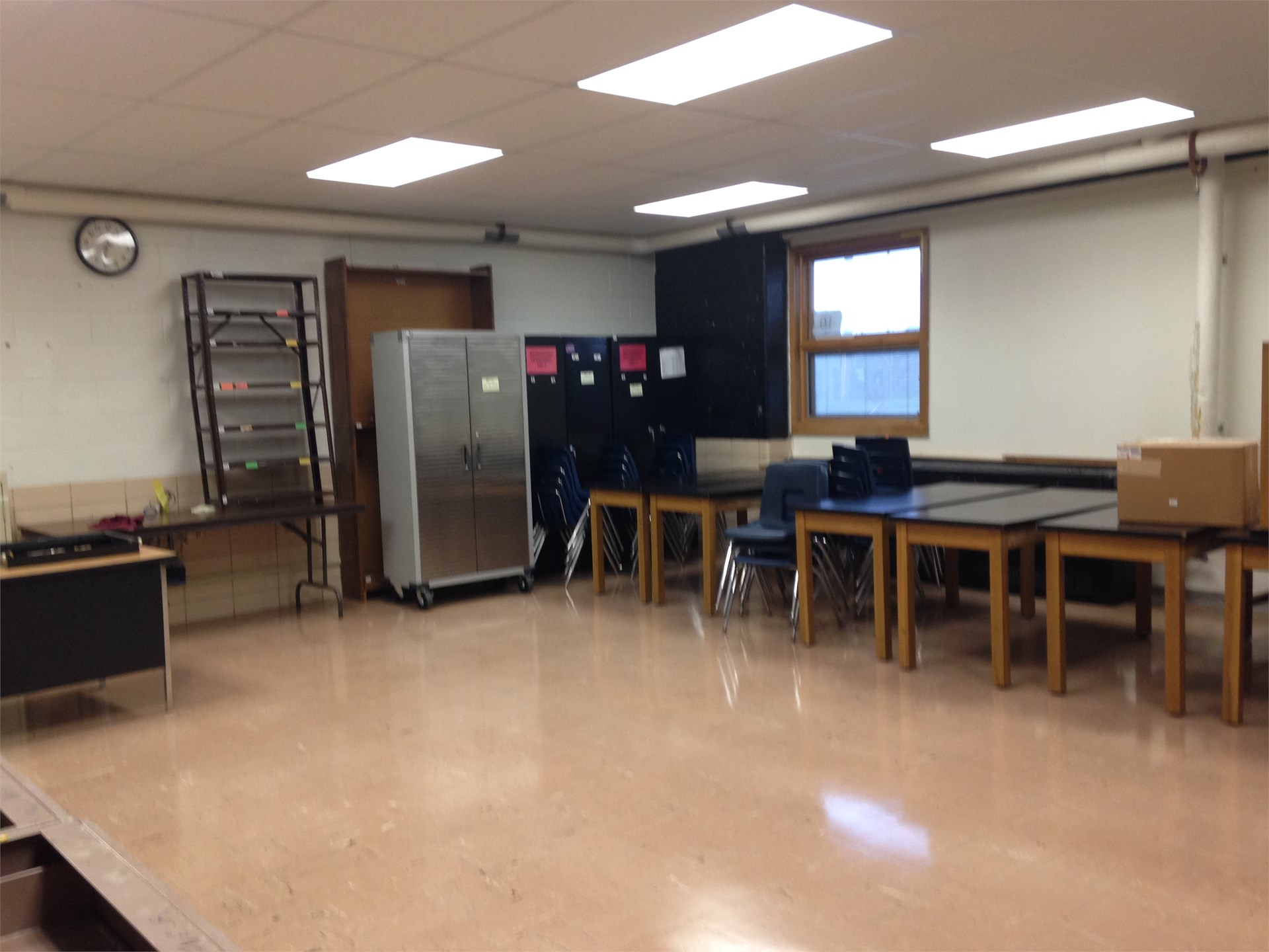 Biology Room upon completion