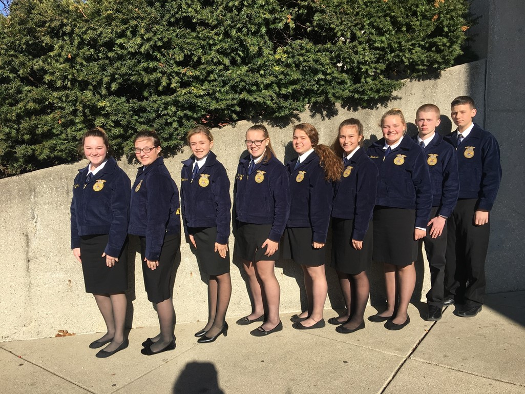 FFA Novice State Parliamentary Procedure Team - Top 20 in the State