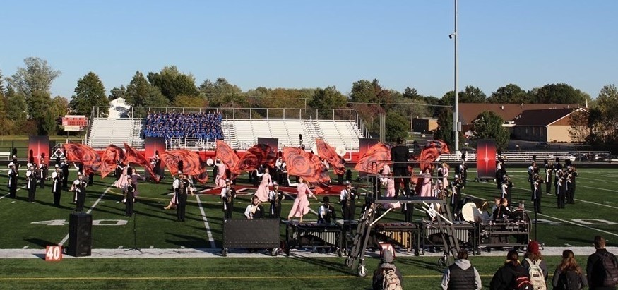 Pirate Marching Band Qualifies for OMEA State Finals