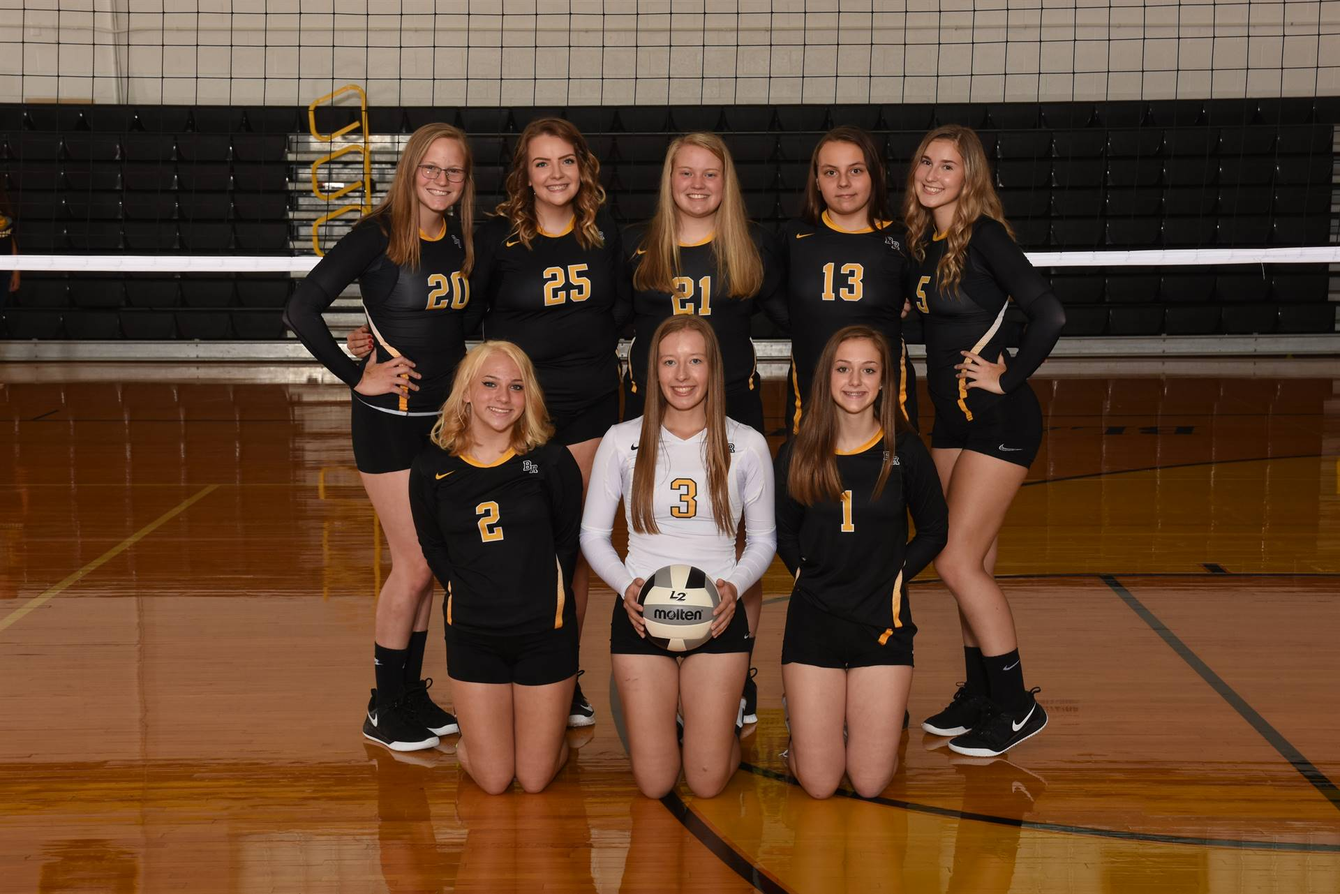 2019 Junior Varsity Volleyball Team