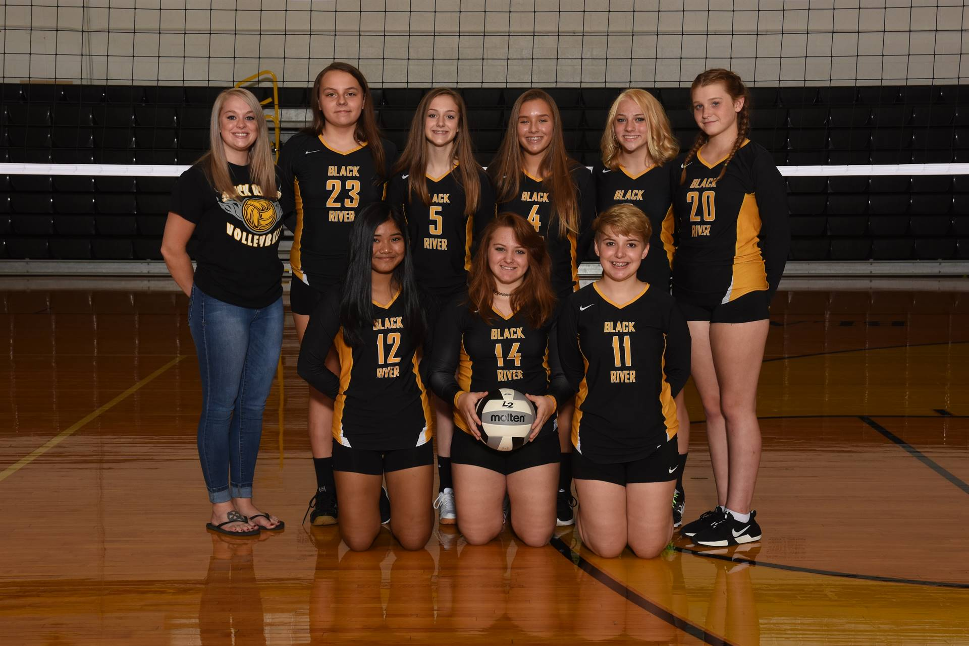 2019 Freshmen Volleyball Team