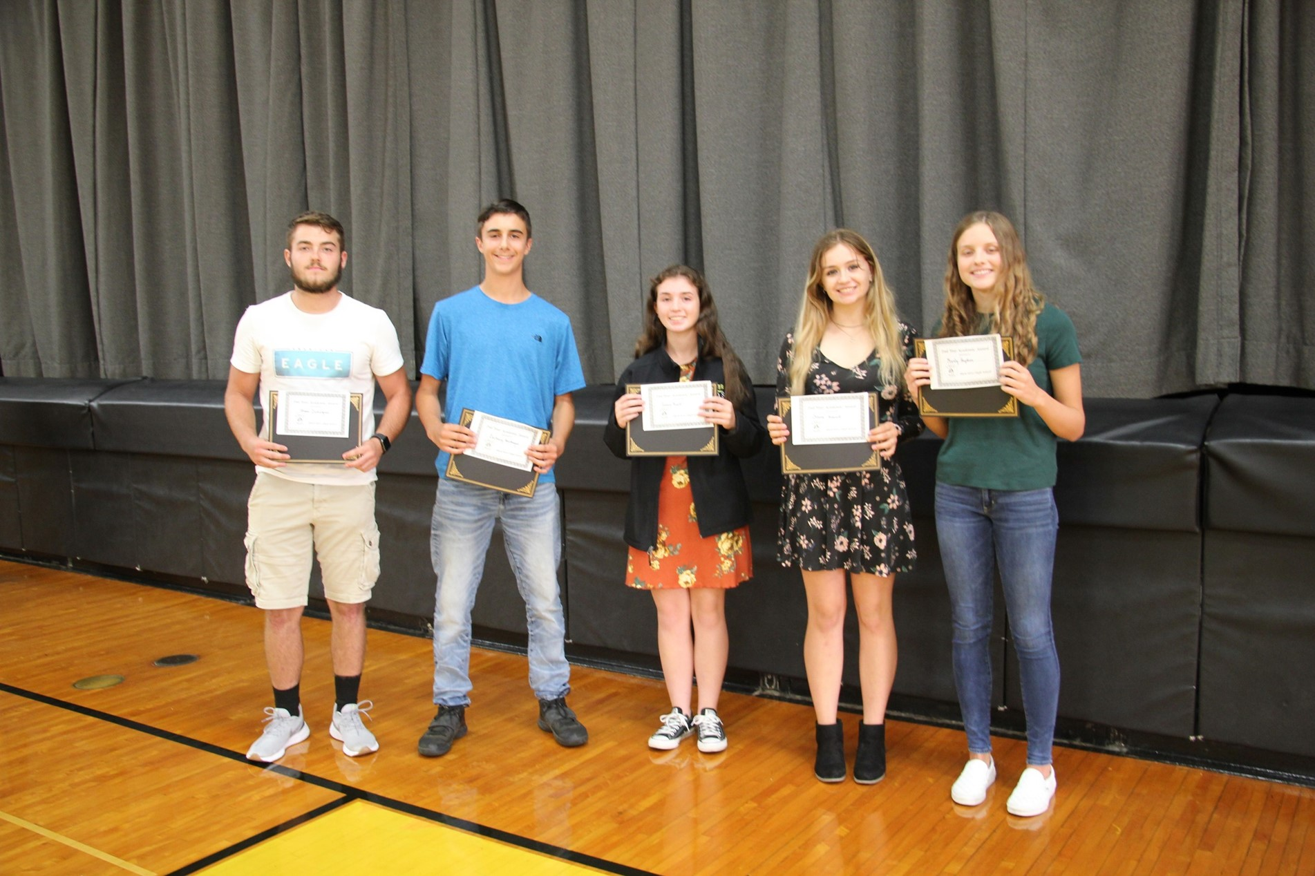 2nd year Academic Letter Winners