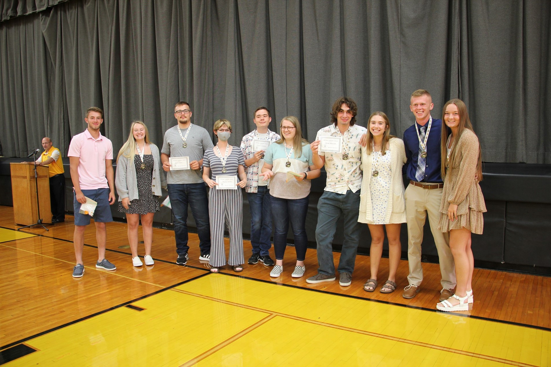 3rd year Academic Letter Winners